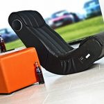 AC Design Furniture 0000008553 Henk Chaise Faux Cuir Noir 55 x 96 x 81 cm de la marque image 3 produit