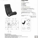 AC Design Furniture 0000008553 Henk Chaise Faux Cuir Noir 55 x 96 x 81 cm de la marque image 6 produit