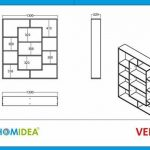 Bibliothèque contemporaine en bois design -> les meilleurs produits TOP 3 image 2 produit