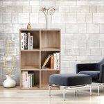 Bibliothèques meubles bois, faites des affaires TOP 7 image 1 produit