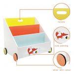 Bibliothèques meubles bois, faites des affaires TOP 8 image 5 produit