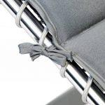 Bo-Camp Mobilier de camping BC Coussin chaise relax gris Grey de la marque image 2 produit