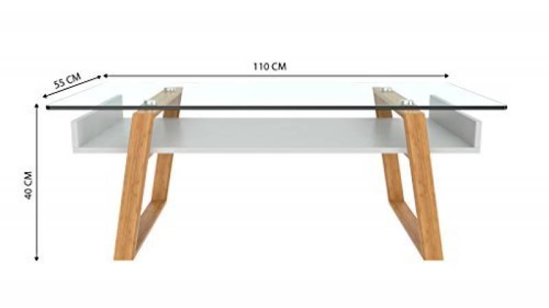 Table salon verre et bois les meilleurs produits pour 2018 meubles de salon - Dessus de table en verre sur mesure ...