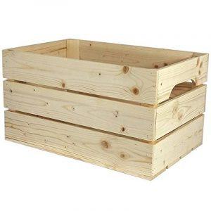 Caisse en bois STANDARD (L.54 x l.36 x h.30) Fabriquée main en France de la marque Simply a Box image 0 produit