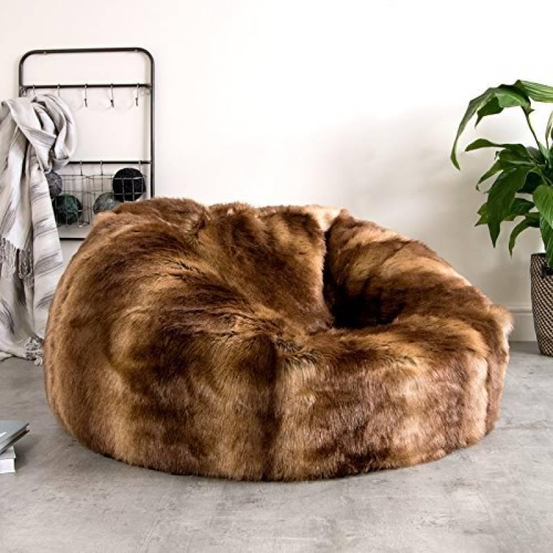 pouf poire marron chocolat acheter les meilleurs mod les pour 2018 meubles de salon. Black Bedroom Furniture Sets. Home Design Ideas