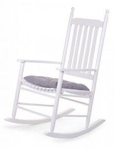 Childwood Rocking chair + coussin, Couleur:Blanc de la marque image 0 produit