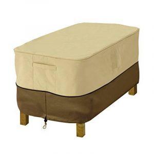 Classic Accessories Veranda 71992 HOUSSE POUR OTTOMAN/TABLE – RECTANGULAIRE, PETITE de la marque image 0 produit