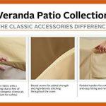 Classic Accessories Veranda 71992 HOUSSE POUR OTTOMAN/TABLE – RECTANGULAIRE, PETITE de la marque image 2 produit