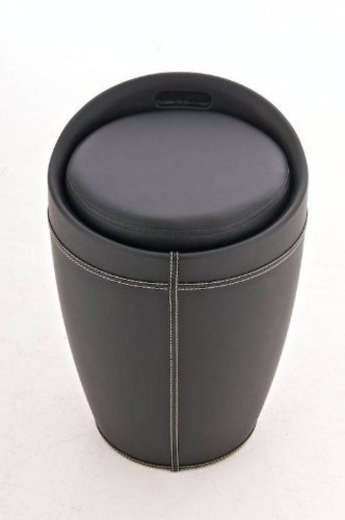 Pouf coffre rond trouver les meilleurs produits pour - Coffre rangement avec assise ...