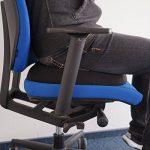 Coussin ergonomique Sanolind annulaire - soulage les hémorroïdes, l'hernie discale, le coccyx fêlé ou cassé de la marque image 3 produit