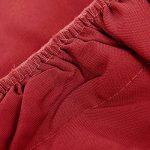 Deconovo Housse de Clic Clac Matelassé Avec Bande Socle Rouge 90x60x190cm de la marque image 2 produit