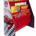 Disney Cars 864458 Bibliothèque Bois Rouge 51 x 23 x 60 cm de la marque image 2 produit