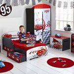 Disney Cars 864458 Bibliothèque Bois Rouge 51 x 23 x 60 cm de la marque image 3 produit