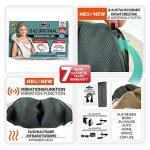 Donnerberg® Original appareil de massage shiatsu - Marque déposée allemande - Garantie 7 ans - Chaleur à infrarouge et vibration - Certificat TÜV - Pour domicile, voiture, bureau de la marque image 1 produit