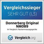 Donnerberg® Original appareil de massage shiatsu - Marque déposée allemande - Garantie 7 ans - Chaleur à infrarouge et vibration - Certificat TÜV - Pour domicile, voiture, bureau de la marque image 5 produit