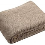 EHCCanapé Jeté de canapé en coton naturel à chevrons Super king size 250x 380cm de la marque image 1 produit