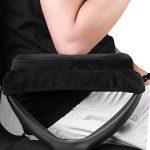 eJiasu Mémoire ergonomique Mousse Appuie-bras Coussin de chaise Coussin d'oreiller Coussin de repose-bras Coussin de bureau à domicile Couvre-bras pour soulagement de la fatigue au coude et au bras (Noir-1 paire) de la marque eJiasu image 3 produit