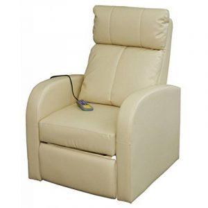Fauteuil confort massant blanc crème de la marque vidaXL image 0 produit