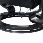 Fauteuil de massage relaxation chauffage electrique repose-pied noir 71 de la marque image 5 produit