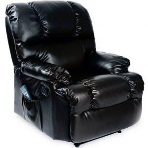 Fauteuil relaxation cuir, les meilleurs modèles TOP 1 image 0 produit