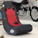 FineBuy SCOOT - Fauteuil multimédia fait de faux cuir | Chaise de jeu avec haut-parleurs et caisson de basses | Chaise de musique avec son système de la marque FineBuy image 6 produit