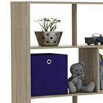 FMD 264-001_ei Stretch 1 Etagère Bibliothèque Bois Chêne 33 x 93,5 x 146 cm de la marque image 1 produit