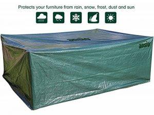 Grande housse de protection étanche pour meubles de jardin/patio, taille 2,8x 2,04x 1,06m de la marque image 0 produit