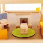 Hape - E3452 - Jeu d'Imitation en Bois - Maison de Poupées - Pièce Multimédia de la marque image 2 produit