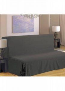 Homemaison HM69516-59 Clic Clac Housse de Canapé à Nouette Polyester Gris Clair 37 x 26 cm de la marque image 0 produit