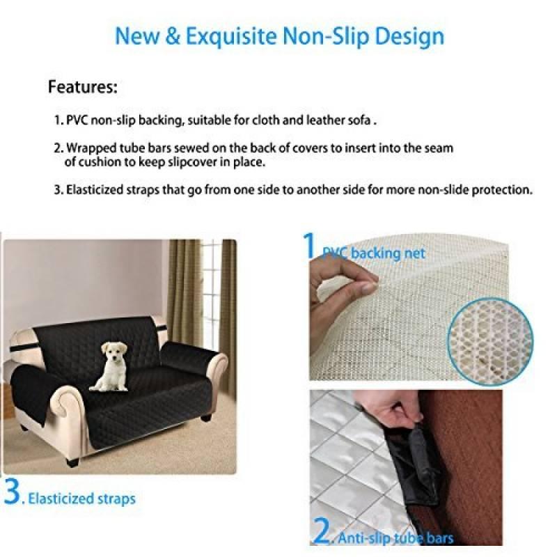 protege fauteuil et canape top housse de canap sitzer sofa protge canap antidrapant protge. Black Bedroom Furniture Sets. Home Design Ideas