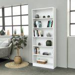 INFINIKIT Haven Bibliothèque haute en bois blanc de la marque image 2 produit