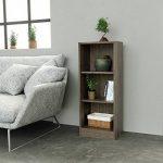 INFINIKIT Haven Petite bibliothèque en chêne gris de la marque image 2 produit