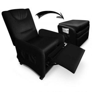 Intense Déco - Fauteuil relax pliable Bristol Noir de la marque image 0 produit