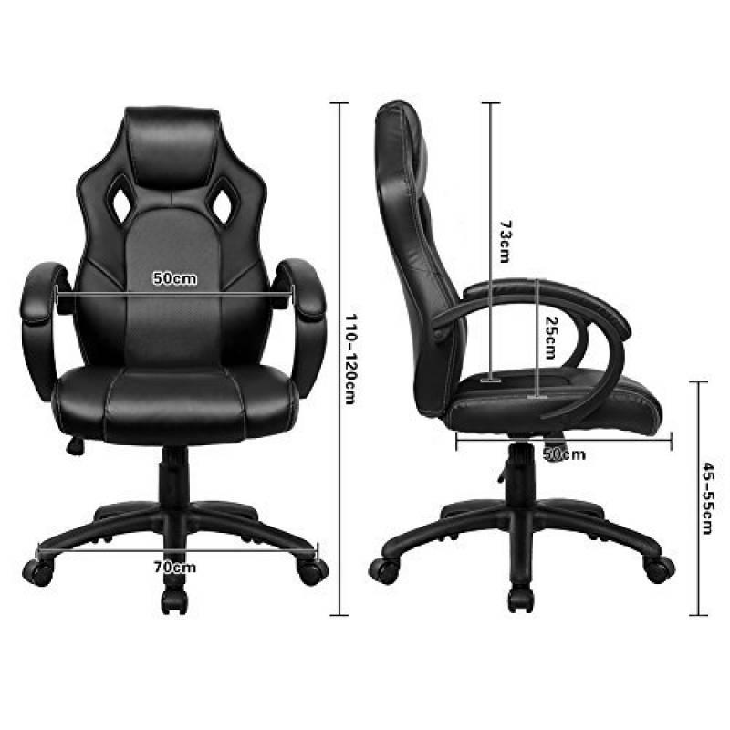 Fauteuil bascule noir top 11 pour 2018 meubles de salon - Fauteuil ergonomique de salon ...