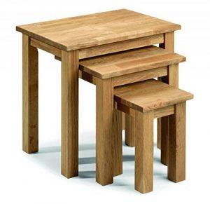 Julian Bowen Coxmoor Tables gigognes en chêne de la marque image 0 produit