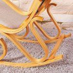 Le comparatif pour : Fauteuil à bascule design bois TOP 8 image 4 produit