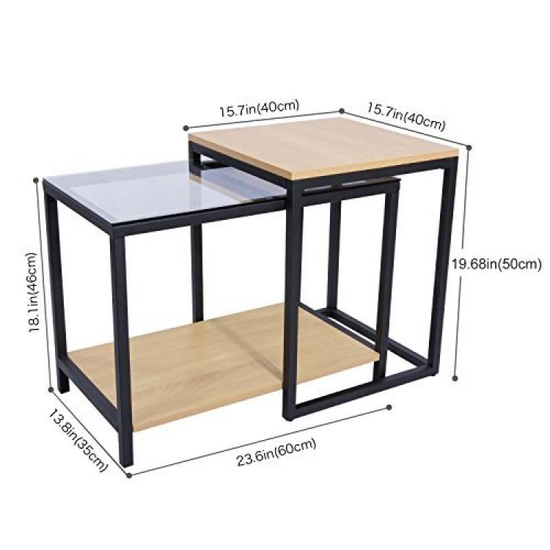 Table salon verre et bois les meilleurs produits pour 2018 for Table salon verre et bois