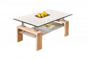 Links 19400020 Loana Table Basse Chêne de Sonoma 100 x 60 x 45 cm de la marque image 0 produit