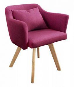Menzzo Scandinave Dantes Chaise/Fauteuil Tissu Violet 58 x 58 x 70 cm de la marque image 0 produit