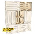 Notre comparatif pour : Table basse caisse en bois TOP 0 image 3 produit
