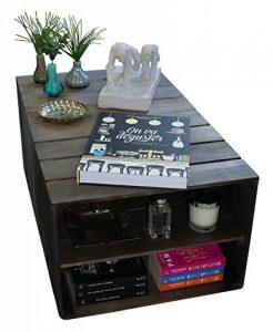 Notre comparatif pour : Table basse caisse en bois TOP 1 image 0 produit