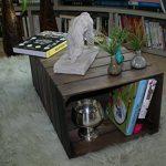 Notre comparatif pour : Table basse caisse en bois TOP 1 image 5 produit