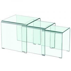 Notre comparatif pour : Tables gigognes verre TOP 1 image 0 produit