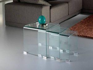 Notre comparatif pour : Tables gigognes verre TOP 3 image 0 produit