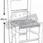 Petite chaise bois pour enfant de la marque AUBRY GASPARD image 1 produit