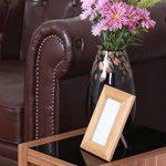 Premier Housewares 2401939 Gigognes Fargo 3 Tables en Placage de Noyer Laqué Noir Détail de la marque image 4 produit