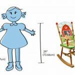 Primary PRODUCTS LTD Fauteuil à Bascule Fantasy Fields par Teamson Multicolore de la marque image 3 produit