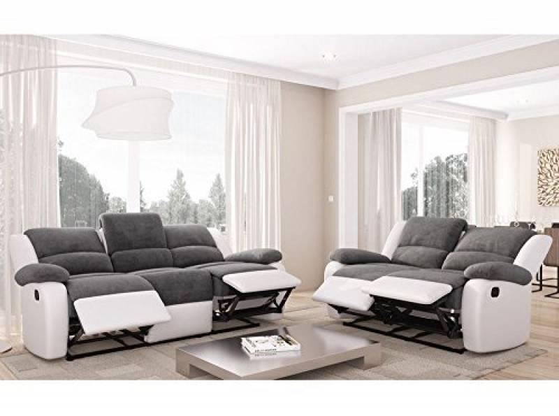 15Meubles 2 salon pour blanc Canapé 2019top places de 5A34jRL