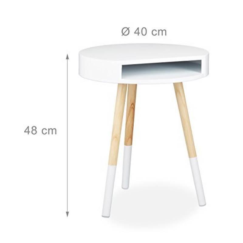 table de nuit ronde le comparatif pour 2019 meubles de salon. Black Bedroom Furniture Sets. Home Design Ideas