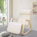 Rocking chair blanc : notre comparatif TOP 3 image 1 produit